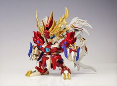 "Custom Build: Ashura God Gundam ""紅の阿修羅神 孟節ガンダム"" - Gundam Kits Collection News and Reviews"