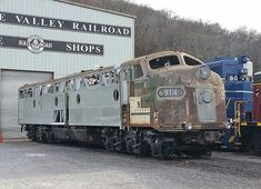 Former Southern railroad E8A
