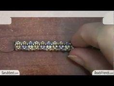 Tubular beadwork (Chenille Stitch): another simple idea for a tubular beadwork | Beaded Jewelry