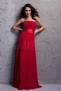 Elegant Pleats A-Line Strapless Empire Waist Floor-Length Renata's Bridesmaid Dress 9648452 - 2013 Bridesmaid Dresses - Dresswe.Com