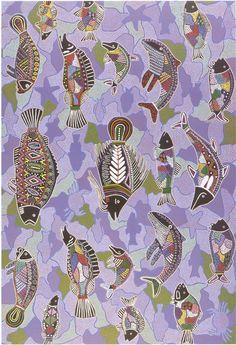 Dreamtime fish | Australian Aboriginal art