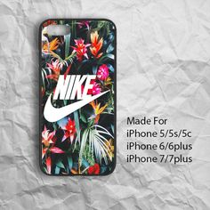 Best Design Flower Nike Logo iPhone Case For iPhone 6/6Plus,iPhone 7/7Plus #UnbrandedGeneric