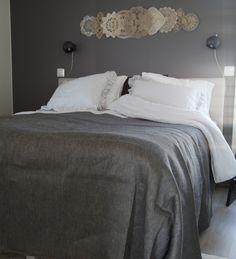 """The tabletcloth or bed cover"" Pöytäliinasta on moneksi. #habitare2014 #design #sisustus #messut #helsinki #messukeskus"