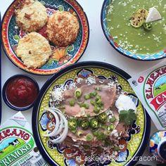 3 CENAS SALUDABLES!  Super fáciles y rápidas con Quesos y Productos marca @elmexicanobrand  Una deliciosa crema de calabacitas tortitas de coliflor y enfrijoladas! :D cual es tu favorita?  Ve las recetas en mi canal de youtube o en mi página http://ift.tt/1erPbf9 ;) #ElMexicano #ElMexicanoBrand #AuthenticSabor #food #foodporn #mexicanfood #dinner