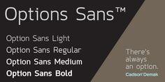 Option Sans Font Download #font#fonts#typography#lettering