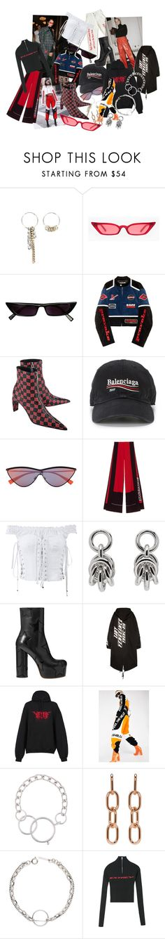 """#33"" by wayan-p ❤ liked on Polyvore featuring Hyein Seo, MISBHV, Balenciaga, Dolce&Gabbana, Alexander Wang, Vetements, Namilia, Givenchy, StreetStyle and fashionset"