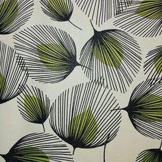 Wow just found this stunning retro leaf vinyl! Gonna try to turn it into some tote bags tonight in time for our stall tomorrow at Wow just found this stunning retro leaf vinyl! Gonna try to turn it into some tote bags tonight in time Art And Illustration, Pattern Illustrations, Surface Pattern Design, Pattern Art, Pattern Drawing, Colour Drawing, Pattern Painting, Texture Drawing, Texture Painting