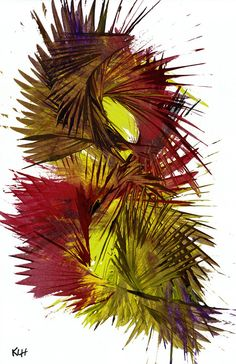 Abstract Expressive Palm Painting   Palm Like by Creative108