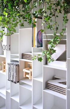 MDF bookcase RANDOM - MDF Italia