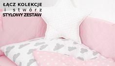 Stylowa pościel dla niemowląt i dzieci --> nasze kolekcje można łączyć, aby stworzyć niepowtarzalny zestaw --> www.betulli.pl