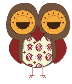 Day 340: Sleepy Retro Owl from http://owladay.wordpress.com