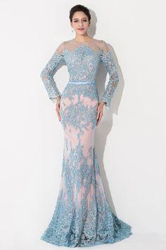 Train Strapless Elegant Prom Dresses Floor-length Trumpet/mermaid Ruched Court