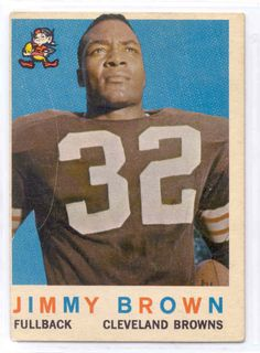 1959 Topps * 10 Jim Brown Cleveland BrownsFB Football Card Deans Cards 3 VG BrownsFB * For more information, visit image link-affiliate link. Cleveland Browns History, Cleveland Browns Football, Cleveland Team, Downtown Cleveland, Cleveland Rocks, Football Trading Cards, Football Cards, Baseball Cards, Nfl Football Players