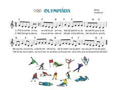 Kids Songs, Winter Sports, Music Notes, Sporty, Kindergarten, Musica, Winter Olympics, Nursery Songs, Winter Sport
