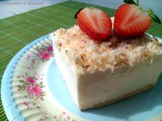 Malinowo w kuchni: Ciasto śnieżny puch