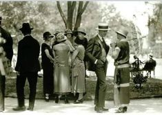 1920's in Pictures | 1924 c. People outdoors. From America in the... Madrid, America, Couple Photos, Couples, People, Pictures, Garden Parties, Outdoors, Antique Photos