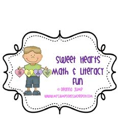 This is a fun mini unit that will help your sweeties with higher level thinking. The unit includes:    A Valentine Heart ordinal positions book with manipulatives and cards to support independent and whole group learning.    Work mats, self checking clue cards and manipulatives for a candy heart ordinal positions center.    A Candy Heart fair shares book.  Word and picture cards for the Candy Heart fair shares song chart.    A simple mixed up sentences candy heart book that can be completed…