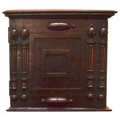 18th Century English Spice Box with Interior Drawers | From a unique collection of antique and modern boxes at http://www.1stdibs.com/furniture/more-furniture-collectibles/boxes/