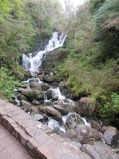 Torc Waterfall. Killarney National Park, Ireland.