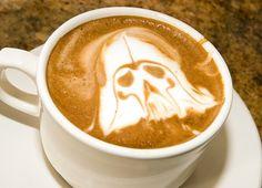 Darth Vader Latte
