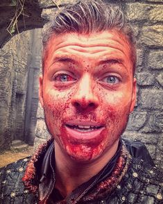 Today was crazy. @HistoryVikings Ivar The Boneless #Vikings