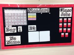 New Bulletin Boards | shiningthelightinthirdgrade