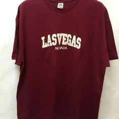 Las Vegas Nevada T Shirt Purple Maroon Applique Embroidered Mens Plus Size Fashion, Best Mens Fashion, Las Vegas Nevada, Applique, Purple, Sleeves, Cotton, Mens Tops, T Shirt