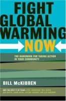Bestselling author Bill McKibben turns activist in the first hands-on guidebook to stopping climate change, the world's greatest threat Hurricane Katrina. A rapidly disappearing Arctic. The warmest winter on the East Coast in recorded history. The leading scientist at NASA warns that we have only ten years to reverse climate change; the British government's report on global warming estimates that the financial impact will be greater than the Great Depression and both world wars - combined.