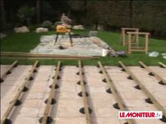 pose terrasse composite castorama dixi blooma sur lambourdes et plots decking pergolas and construction