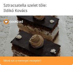 Sztracsatella szelet Desserts, Food, Tailgate Desserts, Deserts, Eten, Postres, Dessert, Meals, Plated Desserts