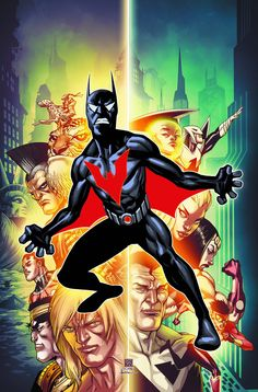 At last, Batman Beyond gets his own ongoing series in THE definitive future of the DCU! But this isn't the Beyond you think you know! With the Justice League missing and without Bruce to guide him, th