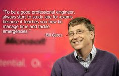 The worlds most pioneering and successful man on how to prepare for exams - very interesting