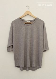 Over-sized Heather Grey pullover