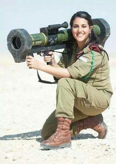 Nothing like a fine woman holding a missle. Shabbat shalom.