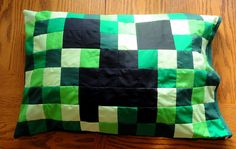 mine craft pillow