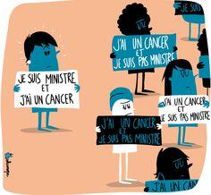 Maladie silencieuse  Des femmes malades du cancer troublées par le témoignage de Dominique Bertinotti, le Monde mercredi 27 novembre