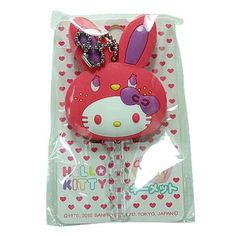 Hello Kitty Bunny Key Cap Cover Sanrio Red_Car Accessories_All Products_A Cute Shop Exciting New Store! - Where fun never ends~