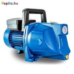 Elpumps által gyártott JPV1500B Jet rendszerű szivattyúk tiszta víz, vagy hozzá hasonló tulajdonságokkal rendelkező, nem agresszív és nem éghető folyadékok szállítására alkalmasak. Kiválóan használhatók háztartások ivóvízszükségleteinek és egyéb használati vizének pl. öntözés, locsolás biztosítására.    Előnyei:  A szivattyú konstrukciójából adódóan önfelszívó, csak a szivattyút kell felönteni.  A levegőt automatikusan kitermeli magából, így a szivattyú működése nem áll le.  Az axiál… Home Appliances, House Appliances, Appliances