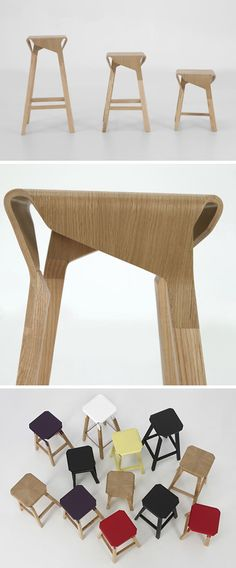naoshima stools > by emiliana design studio.