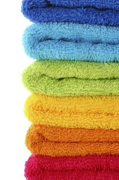 Cleaning Stinky Towels The Better Way: load the washer with all your towels, add your normal soap, then put in about 1/4 cup of Lysol