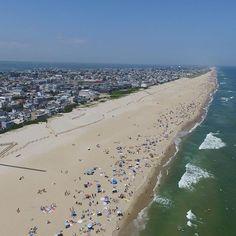 Long Beach Island, New Jersey from my Phantom 3.