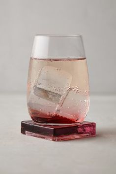 Anthropologie Platform Stemless Wine Glass