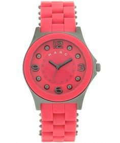 Marc by Marc Jacobs Watches Time Only Pelly Watch MBM2590 OS Red