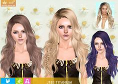 The Sims 3 Titanium long hair with small braid by NewSea The Sims, Sims 3, Sims 4 Mods, Free Sims 4, Play Sims, Sims Hair, Small Braids, Sims 4 Custom Content, Cool Hairstyles
