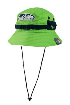 18694ccf849 New Era Seattle Seahawks Adventure Reverse Bucket Hat Lime  NewEra   SeattleSeahawks Sports Hats