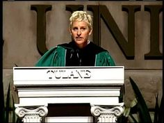 ▶ Ellen at Tulane Commencement 2009 - YouTube