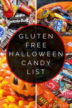 Here's the ultimate gluten free halloween candy list that contains all the sweets that are safe to eat for anyone on a gluten free diet. Enjoy!