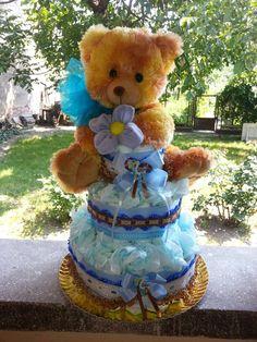 My first Teddy bear - custom order for my friend