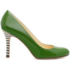 Cute green Kate Spade shoes