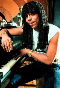 Rick James ( birth name James Ambrose Johnson, Jr.) was an RB soul singer. Born in Buffalo, NY Feb 1, 1948. Died in Los Angeles on Aug 6, 2004.  R.I.P.